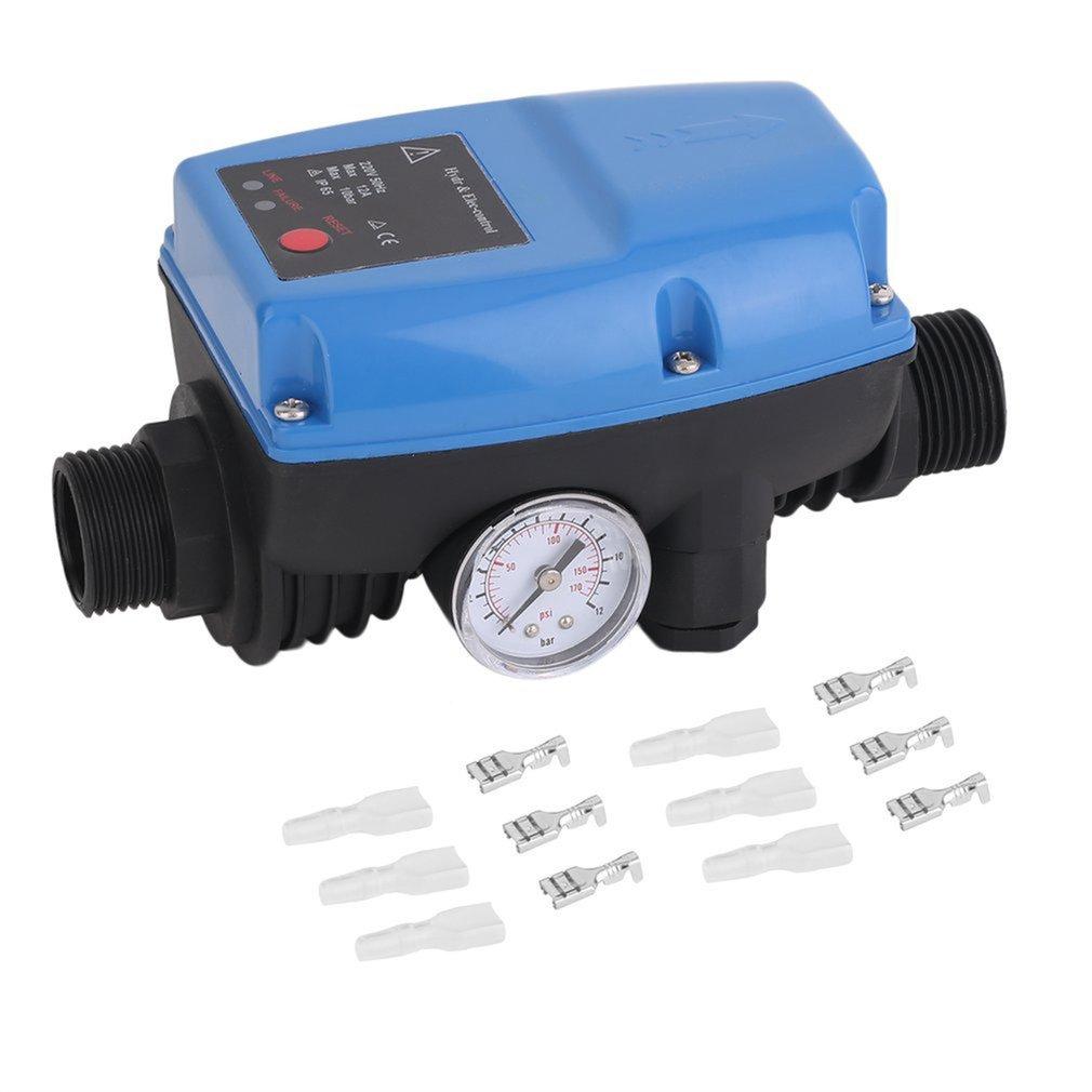 Электронный цифровой автоматический компрессор водяного масляного насоса в наличии, переключатель регулятора давления для водяного насос...