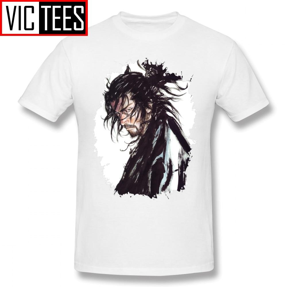 Camisetas Vagabond para hombre, camiseta Vagabond Musashi Miyamoto, Camiseta de algodón 100% para hombre, camiseta gráfica impresionante de verano