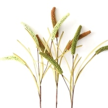 Mousse artificielle farine de blé branche faux chien queue herbe plante maison mariage décoration florale