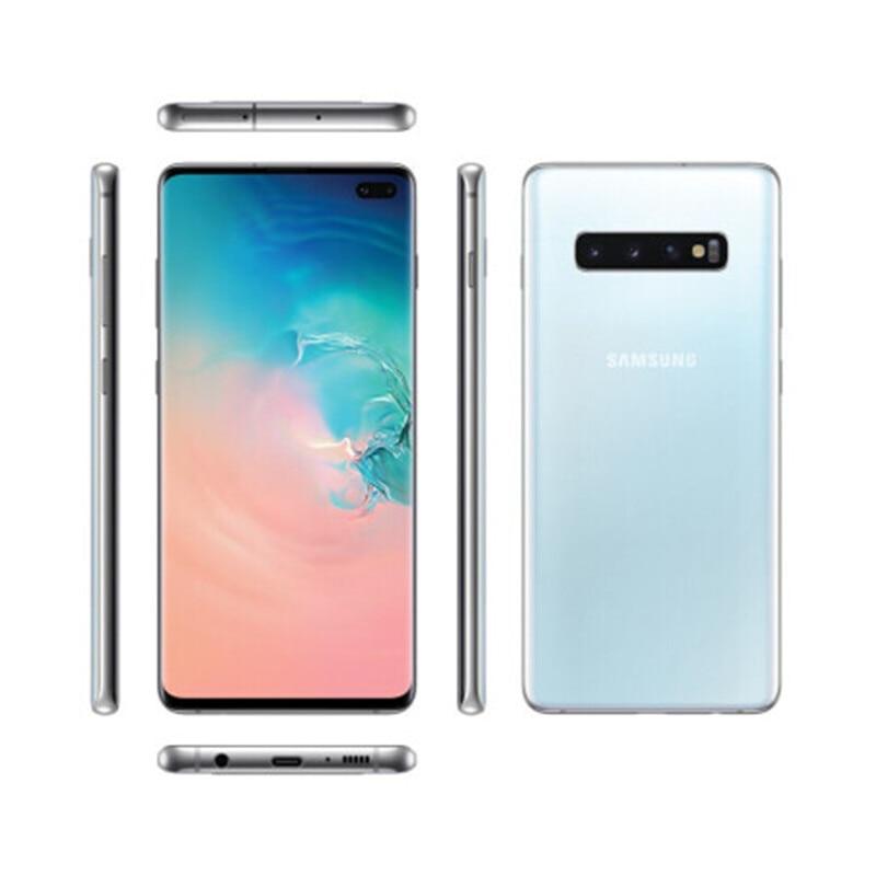 Фото3 - Samsung Galaxy S10 + g975U/U1 S10 Plus, 8 Гб ОЗУ 512 Гб ПЗУ, мобильный телефон Snapdragon 855 восемь ядер, 6,4 дюйма, 16 МП и двойная камера 12 Мп, NFC