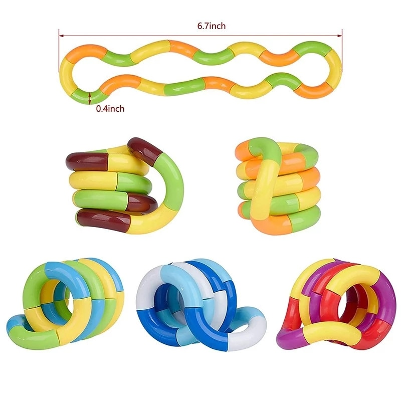 New Fidget Anti Stress Toy Twist Adult Decompression Toy Child Deformation Rope Perfect For Stress Kids To Play Toys Fidget Year enlarge
