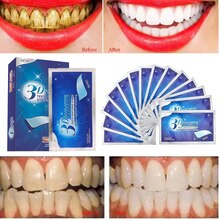 3D Teeth Strips Whiten Gel Teeth  Whitening Sticker Tooth Rapid Bleaching Health New Whitening Oral