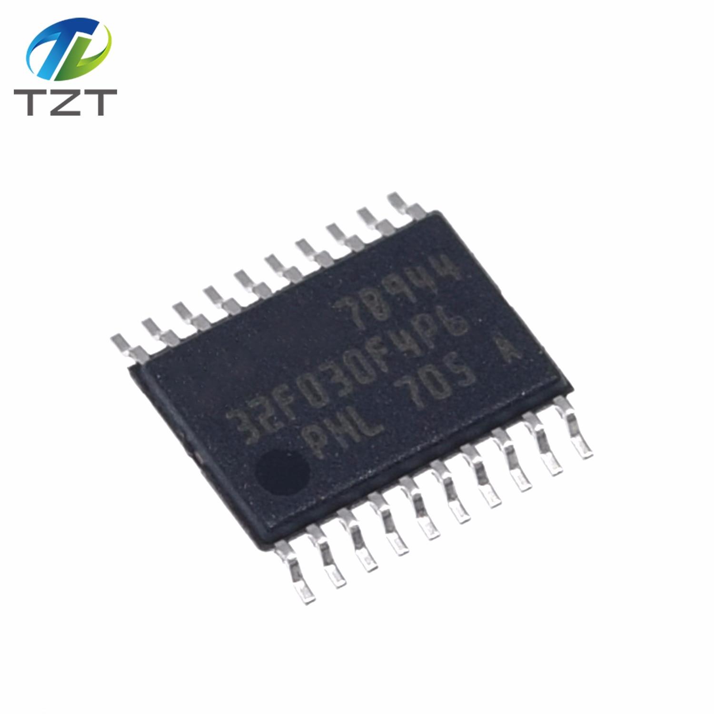 5pcs STM32F030F4P6 TSSOP-20 STM32F030 TSSOP 32F030F4P6 SMD Valor-line 32-bit MCU ARM-based
