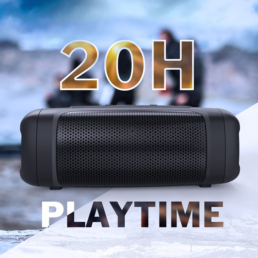 DOSS SoundBox Extreme IPX6 Waterproof Outdoor Speakers Portable Bluetooth 4.2 Sound Box TWS True Wireless Stereo Bass Music Box enlarge
