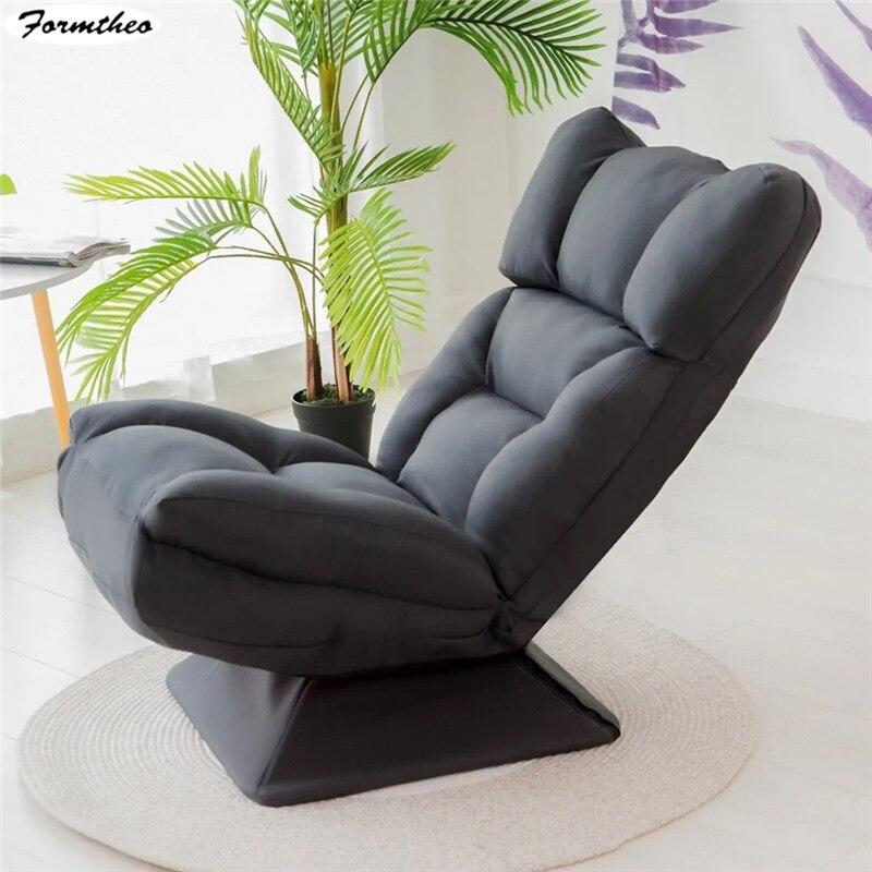 Formtheo sala de estar reclinável rotatable preguiçoso sofá espreguiçadeira cadeira de balanço para festa de família