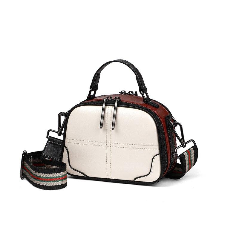 حقائب اليد النسائية الفاخرة العلامة التجارية مصممة جلد البقر حقيبة كتف سيدة عالية الجودة الإناث Crossbody عادية حمل المحافظ الموضة