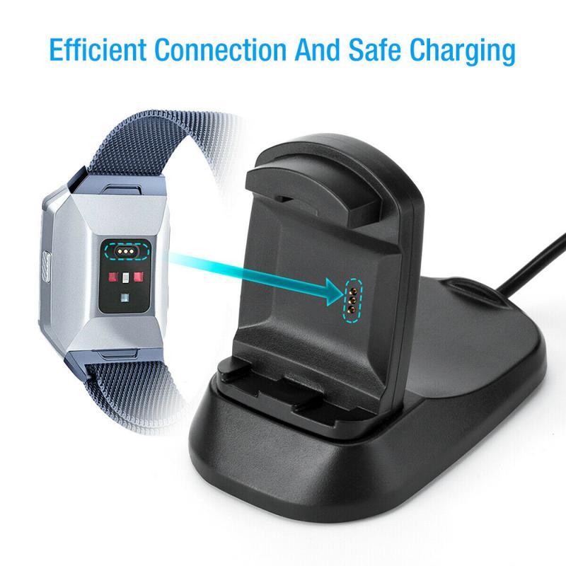 Reloj inteligente cargador para Fitbit iónica reloj inteligente cargador USB Cable de...