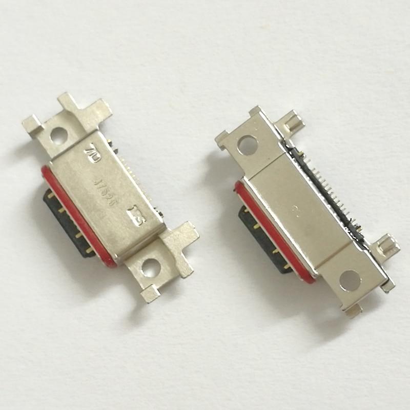 50pcs/lot USB Dock Charging Connector Charger Port Micro Socket Parts for SamSung Galaxy A320 A520 A720  A3 A5 A7 2017