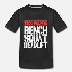 Camisa masculina t 1000 libras banco agachamento deadlift powerlifter clube camisa feminina t