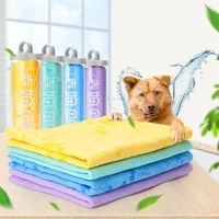 65x44cm pet super absorbent towel clean up cat dog bath accessories puppy quick drying water cleaning supplies soft cats dogs