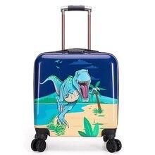 20 pouces enfants voyage bagages sac enfants valise sur roues porter chariot bagage sac cabine roulant bagages enfant coffret cadeau