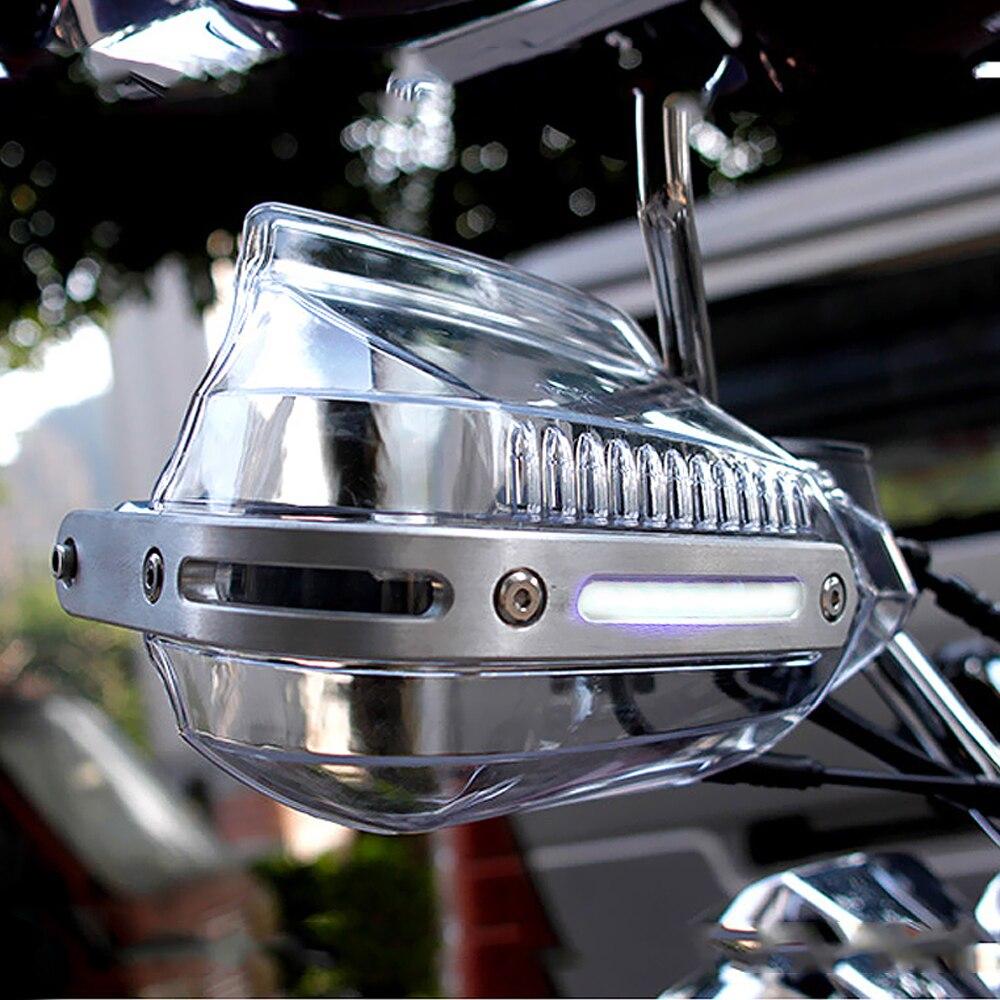 العالمي للدراجات النارية Handguard شفافة مع مؤشر اكسسوارات للدراجات النارية لهوندا 450R 450X 50 موتو