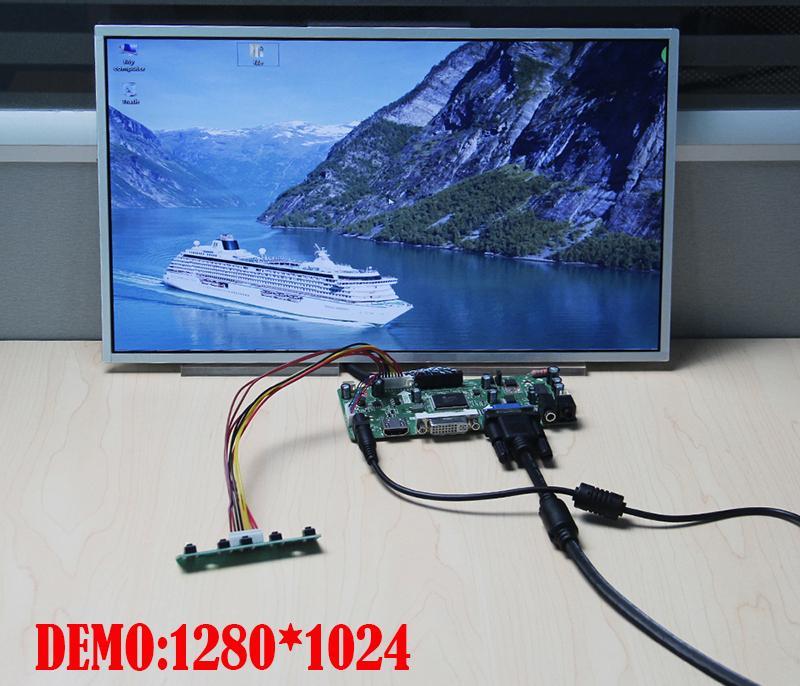 "Kit For LP156WF2-TLA2 Screen Monitor Audio card DIY Controller board 15.6"" 1920X1080 LED LCD DVI Panel 40pin LVDS HDMI VGA"