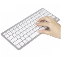 Ultra Slim Bluetooth Keyboard Mini Wireless Keyboard 78 Keys Russian/German/Korea/Spanish/FrenchFor Windows OS/Apple Mac/Android