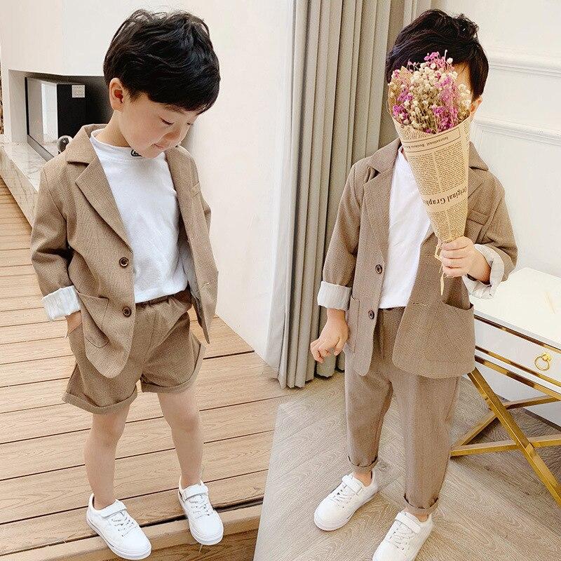 Trajes para niñas y niños para bodas, traje de chaqueta para niños, traje de niño, conjunto de trajes para niñas, traje Formal para niños ropa