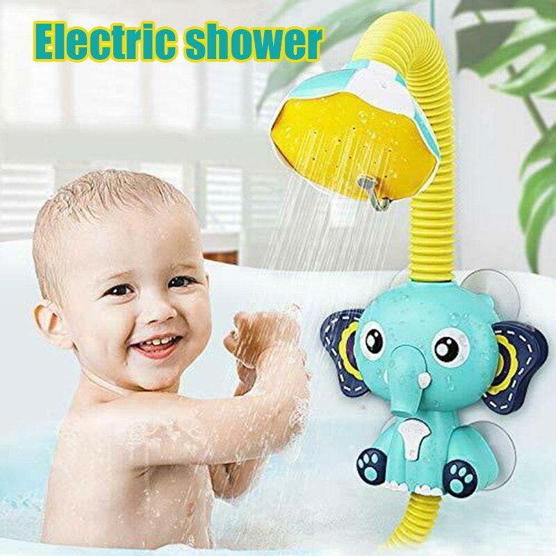 لطيف الفيل الرش حمام لعبة أطفال حمام لعب طفل لطيف الحيوانات رذاذ الماء الرش الحمام الرش لعبة الماء OW