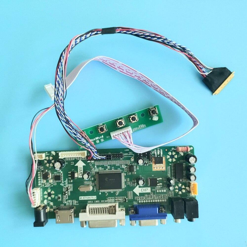 "Kit für N156B6 1366X768 Controller board CMO Monitor Panel LCD VGA 40pin M.NT68676 DVI HDMI LED DIY 15.6 ""display"