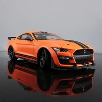 2020 new ford shelby gt500 orange alloy retro car classic car car decoration collection gift metal poster plate