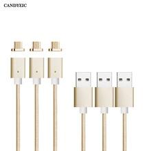 CANDYEIC manyetik şarj Redmi için Note2/3/4 manyetik kablo mikro USB 2.0 Redmi 5 Redmi 5 artı manyetik adaptör şarj