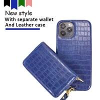 Магнитный кошелек 2 в 1, кожаные чехлы для телефона iPhone xs max xr 7 7 Plus 11 12 Pro 8 8 Plus X, съемный кошелек