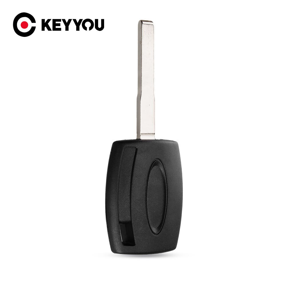 KEYYOU 10PCS/LOT Transponder Key case shell for Ford Fiesta Mondeo Focus C-Max S-Max Galaxy Kuga HU101 Free shipping