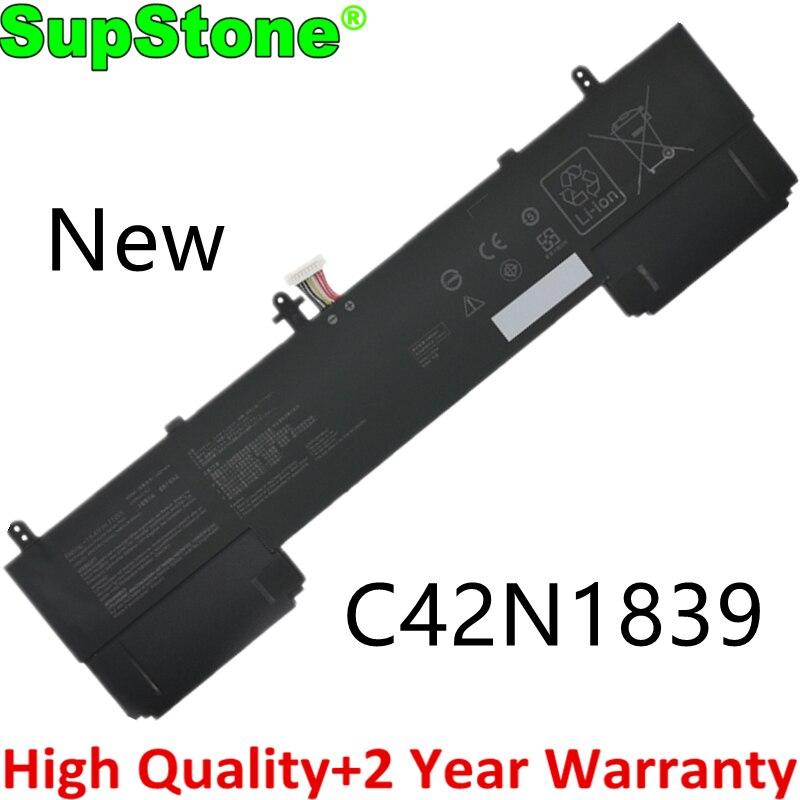 SupStone جديد C42N1839 بطارية كمبيوتر محمول ل Asus ZenBook 15 UX533FAC-A8097T UX533FTC UX534FAC UX534FTC UX563FD-A1015T 0B200-0347000