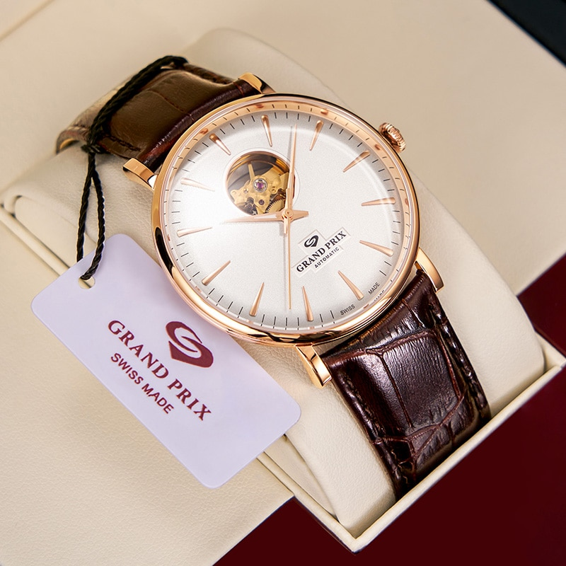 جراند بريكس جديد العلامة التجارية الفاخرة الساعات الرياضية للرجال ساعة ميكانيكية مقاوم للماء ساعات أوتوماتيكية ساعة معصم الرجال الساعات