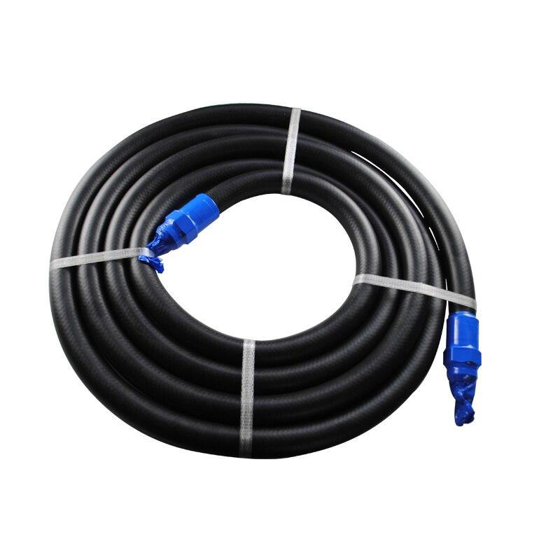 Tubo de enchimento do combustível do óleo da mangueira de borracha do óleo de 4.5 m/6 m para o bocal da recuperação do vapor
