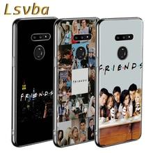 Amis Ensemble Style pour LG W20 W10 V50S V50 V40 V30 K50S K40S K30 K20 Q60 Q8 Q7 Q6 G8 G7 G6 ThinQ coque de téléphone