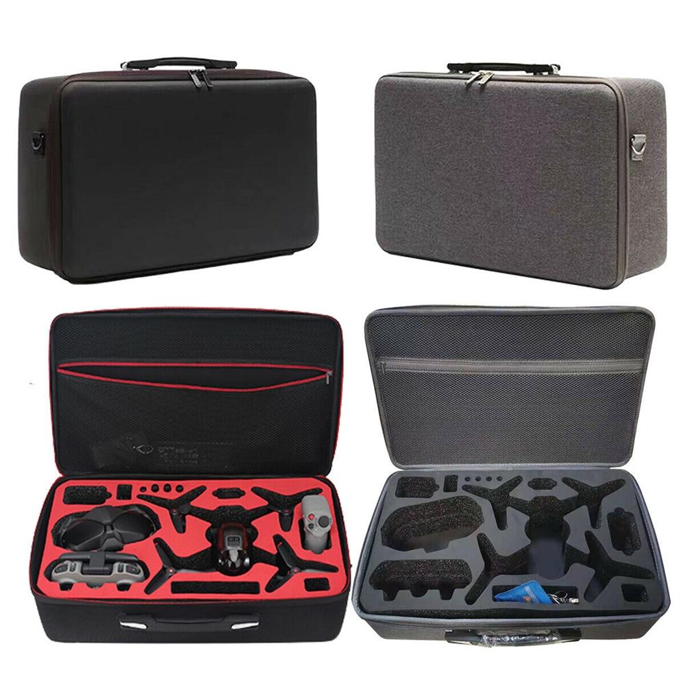 إيفا صدمات تخزين حمل حقيبة صندوق مقبض ل DJI FPV كومبو RC الطائرة بدون طيار
