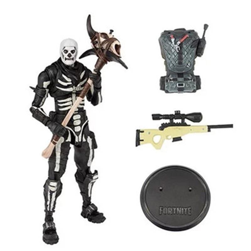 Fortnite 2020 nuevo cráneo hecho a mano, Capitán, tendencia de moda creativa, juguete bonito, regalos de cumpleaños para niños, regalos de Halloween.