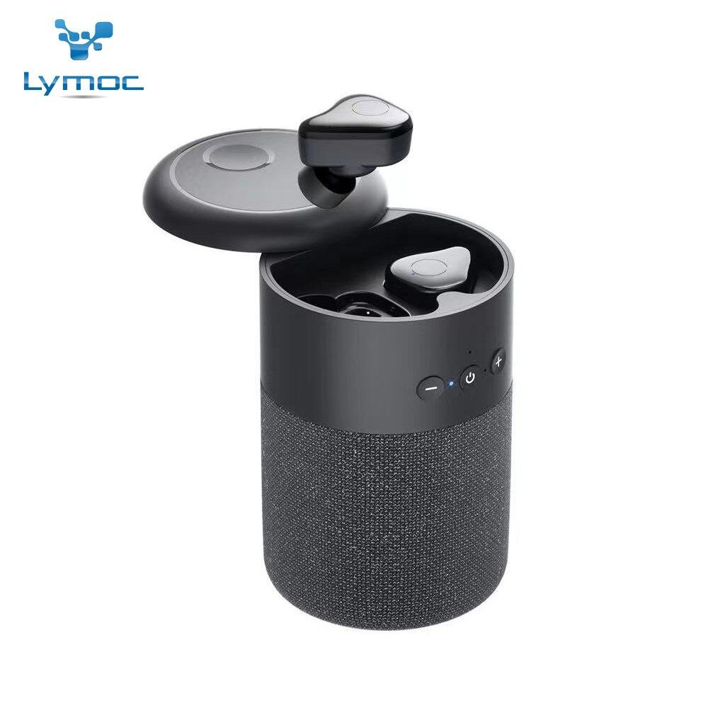 2021 LYMOC TWS Bluetooth 5,1 Auriculares inalámbricos Auriculares altavoz 2-en-1 Auriculares jugar...
