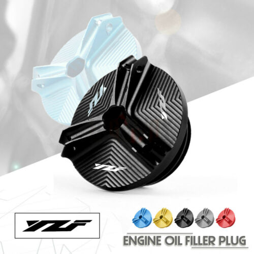 Motorcycle PartsCNC Engine Oil Fuel Filler Filter Tank Cap Cover Plug  For Yamaha YZF R1 YZF R3 YZF R25 YZF R6