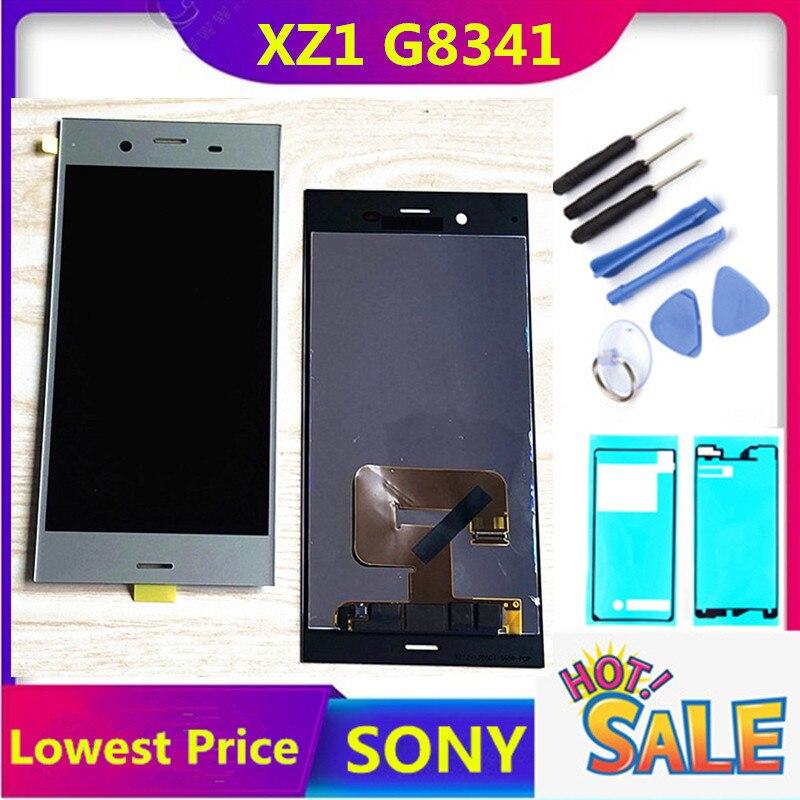 "ERILLES 5,2 ""ЖК-дисплей для SONY Xperia XZ1 дисплей сенсорный экран Замена для SONY XZ1 ЖК-дисплей XZ1 G8341 G8342 ЖК-дисплей"
