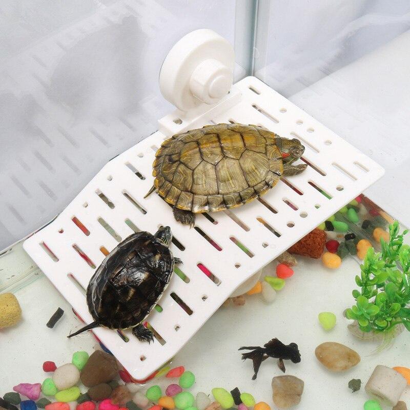1 шт. пластиковая черепаха украшения Bask платформа гусеничная солнечная крыша терраса остров черепаха подъем полки инструменты для аквариум...