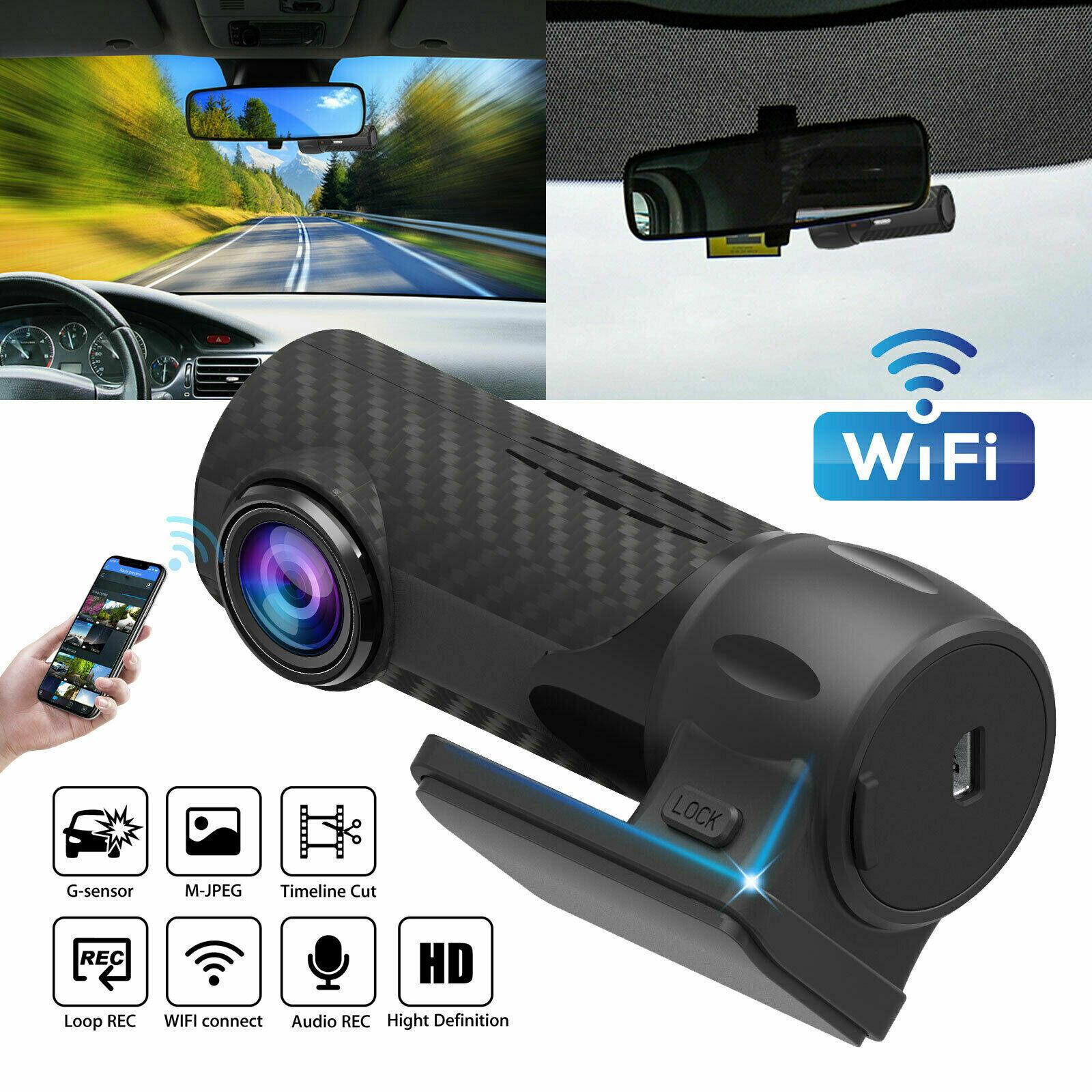 1080P HD Hidden Car DVR Camera WIFI Rear View Video Recorder Dash Cam for Cars with G-sensor loop parking monitor Car DVRs S700