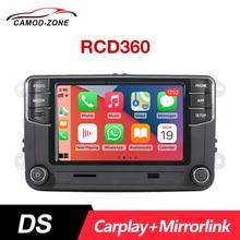 CarPlay Car Stereo DS RCD360 Car Radio RCD330 Headunit For VW Golf Polo MK5 MK6 Passat B6 B7 EOS 17G