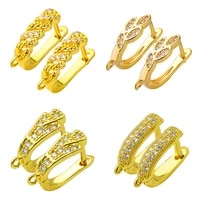peixin handmade womens gold earrings hook jewelry accessories diy jewelry making earrings findings fashion jewelry wholesale