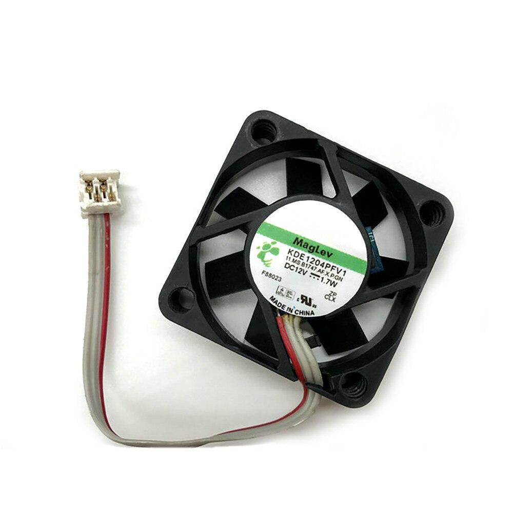 Kde1204pfv1 4010 dc12v 1.7w ventilador de refrigeração para sunon 3-wire cooler 3pin ventilador de refrigeração parte de reparo