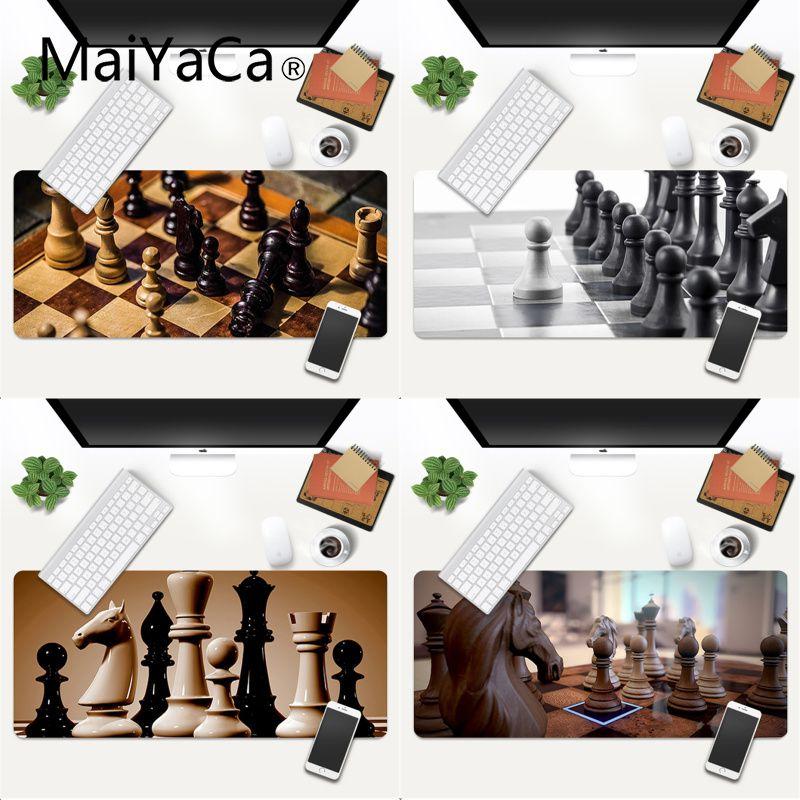 MaiYaCa собственные коврики, шахматный коврик для мыши, игровые коврики, игровой коврик для мыши, большой коврик для мыши 600x300 мм для overwatch/cs go