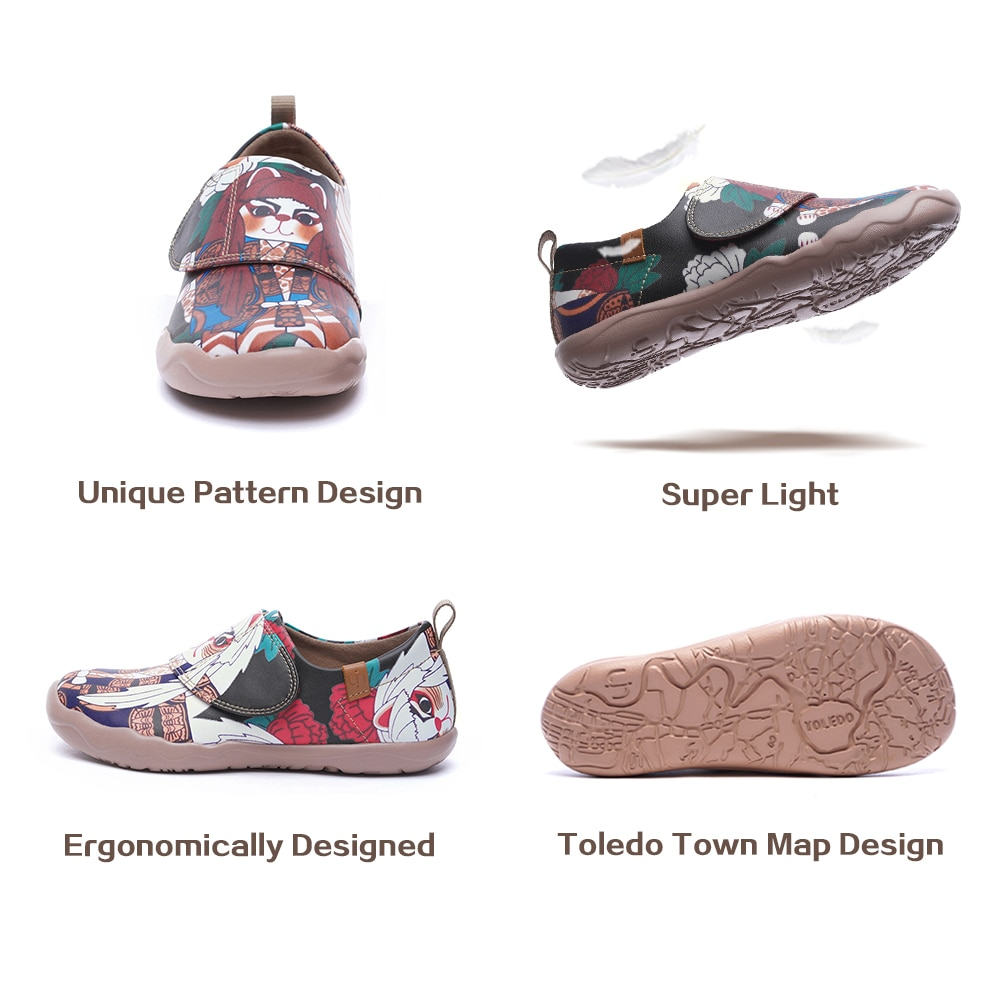 NEW UIN Casual Shoes for Kids 2020 Egypt Series  Painted Lightweight Comfort Children Sneakers for Girl/Boy enlarge
