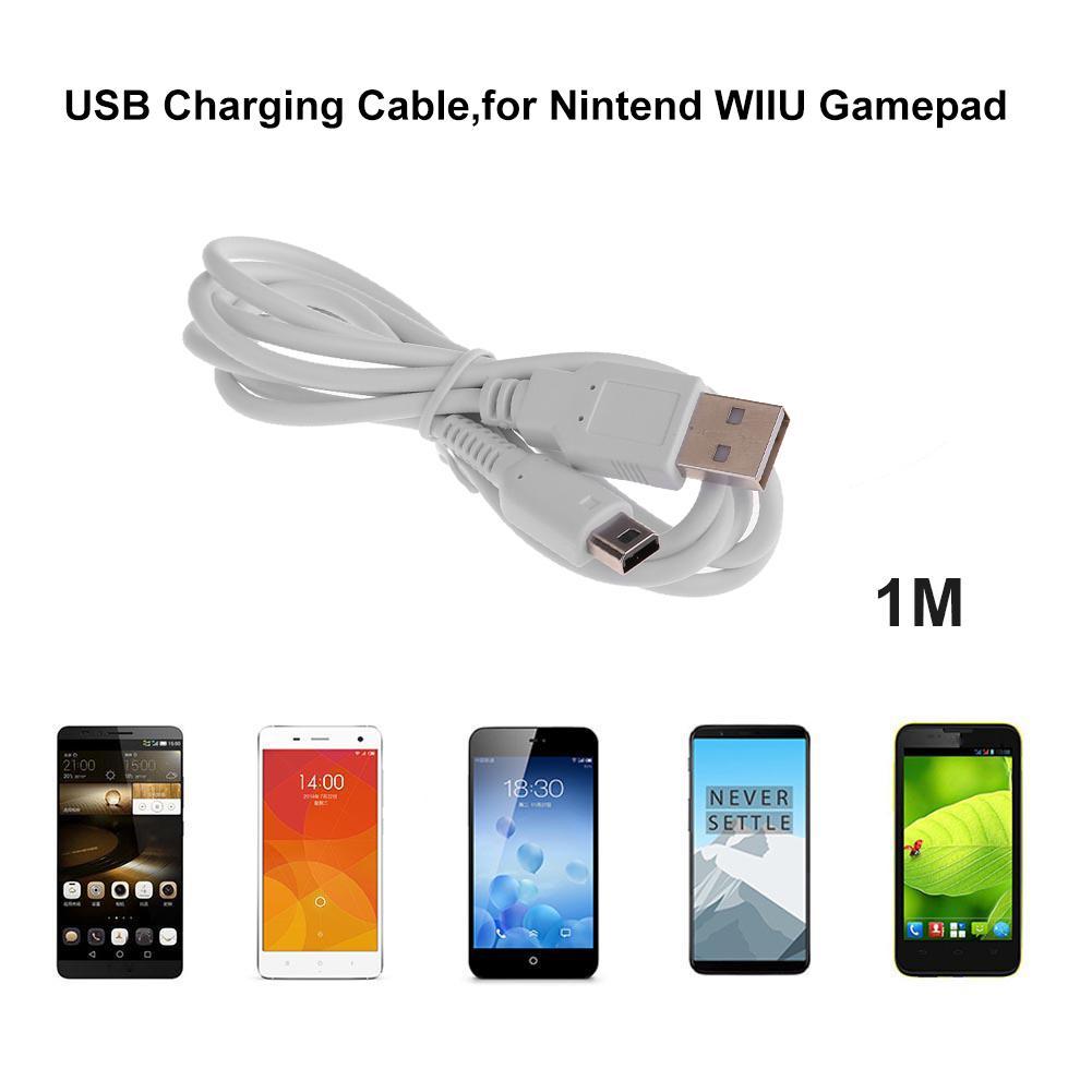 Cable de carga USB de 1m, Cable de alimentación de datos para...
