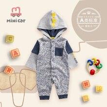 Car children's clothes baby one piece clothes baby crawling clothes New Year's Romper baby going out