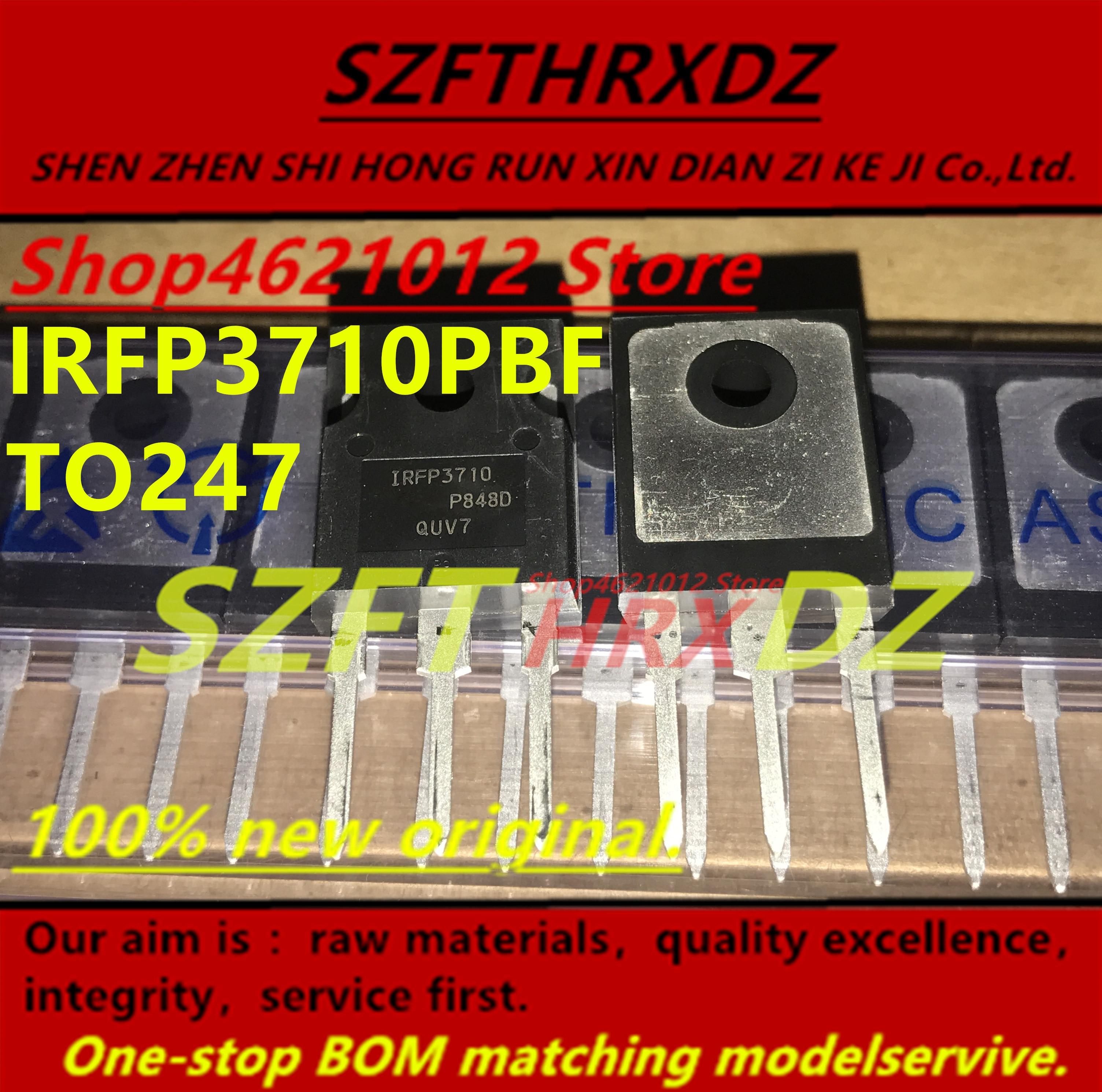 SZFTHRXDZ 100% original Nuevo 2018 + (10 UDS-30 uds) IRFP3710PBF IRFP3710 57A 100 V TO247