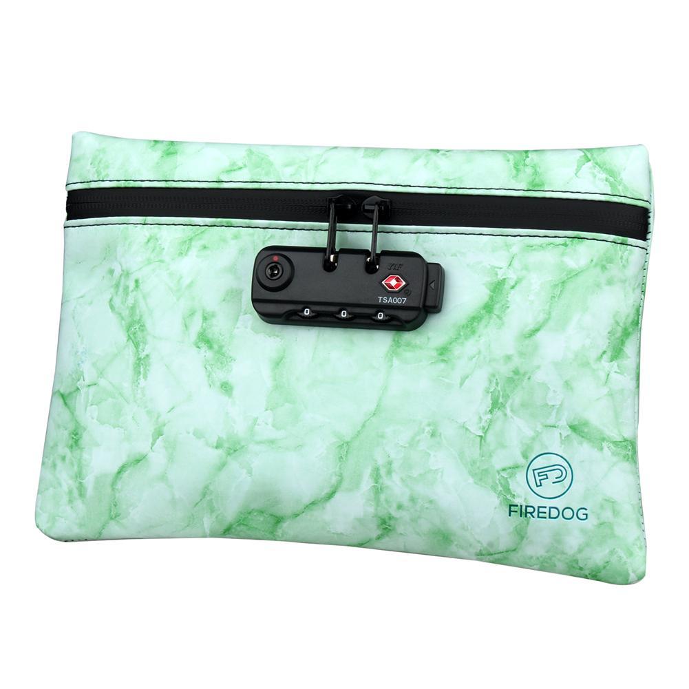 Saco do cheiro da forma portátil caso inodoro do malote com fechamento da combinação para o armazenamento do recipiente da prova do odor da erva à prova dwaterproof água
