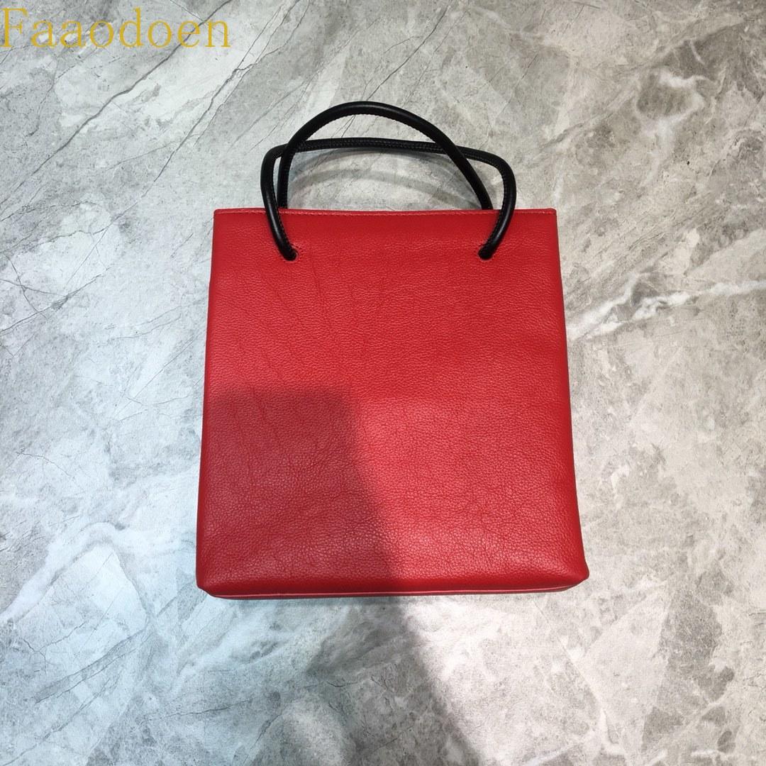 السيدات الفاخرة حقيبة مستحضرات تجميل أنيقة حقيبة يد حقيبة تسوق