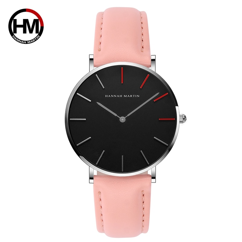 Hannah Martin Business Quartz Women Watches Luxury Brand Fashion Life Waterproof Ladies Watch Gifts for Women Clock Reloj Mujer hannah martin wristwatch women watches luxury brand quartz steel strap female watch diamond ladies watch clock women reloj mujer
