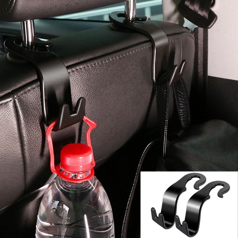For Mercedes Benz E Class W213  Car Seat Back Hook Car Headrest Crook Luggage Rack Luggage Catch Cargo Storage Box Clasp