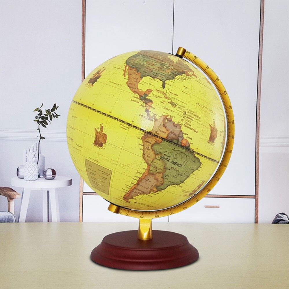 Фото Настольная светодиодная Ночная лампа светящаяся по всему миру с четким печатным