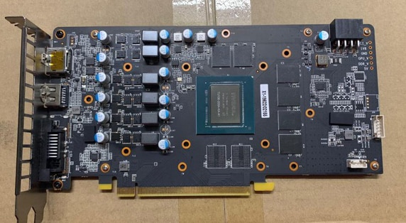 Bykski Water Block use for GALAX GAINWARD RTX2060 / KFA2 2060 GTX1660 Ti [1-Click OC] Full Cover Copper Radiator Block/A-RGB/RGB